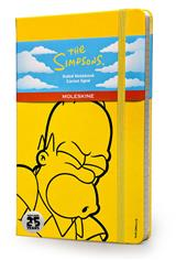 The Simpsons - Limited Edition Notebook - Large - Ruled - Yellow hard cover